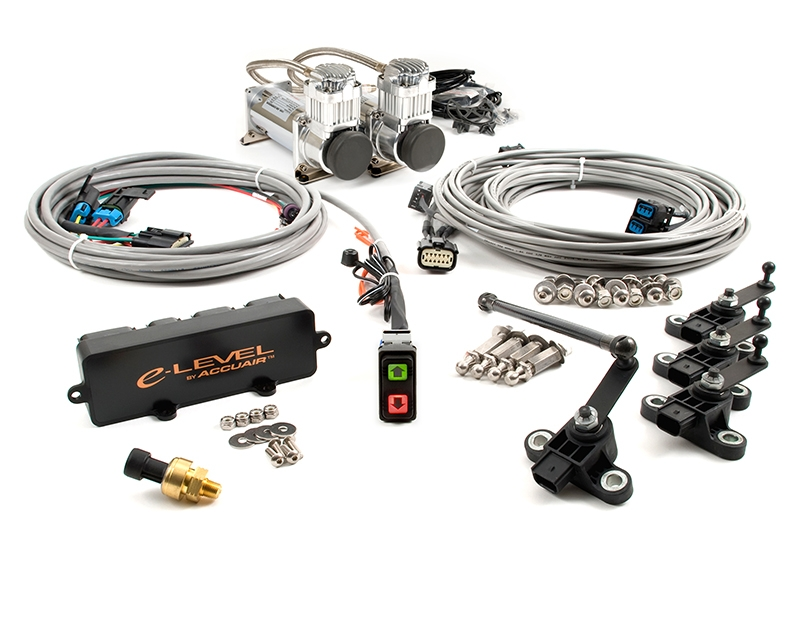 AccuAir Dual Compressor Air Management Package With Rocker Switch