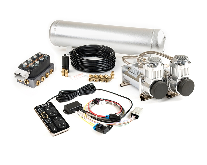 AccuAir SwithSpeed Dual Compressor Air Management Package