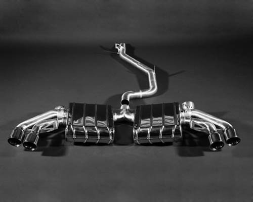 Capristo Valve Controlled High Performance Exhaust System Inc. Remote Audi TT S 07-12