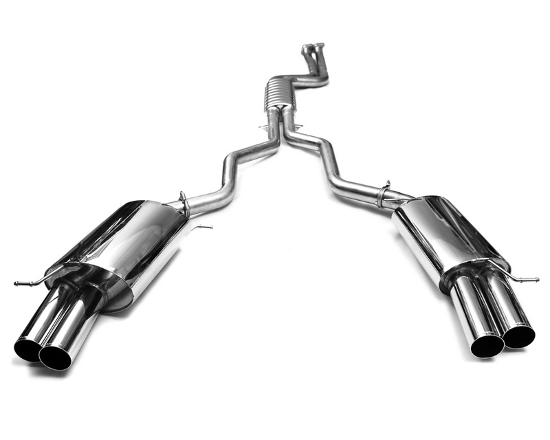 Eisenmann Stainless Catback Exhaust 4x76mm Round Tips BMW Z4 sDrive 35i/35is 10-13