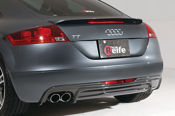 Garage Vary Rear Under|Diffuser 01 Type A - Carbon - Audi TT 8J 07-13