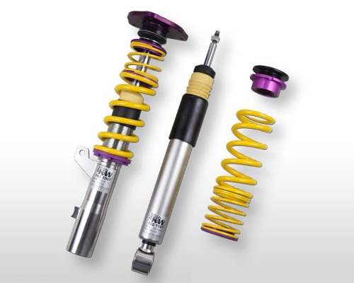 KW 2-Way Clubsport Coilovers with Mounts Porsche 997 Turbo | S 07-11