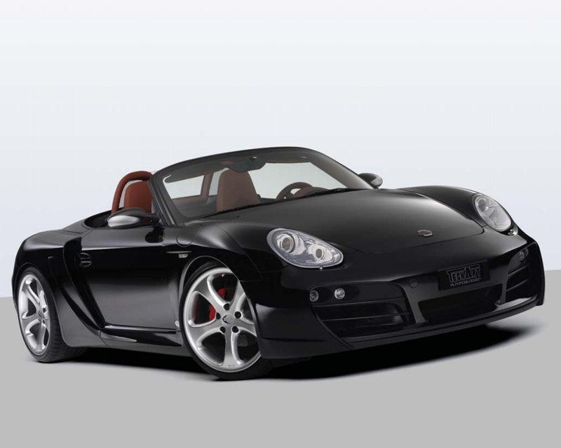 TechArt Wide Body Kit with Black Running Lights Porsche Boxster with OE DRL 05-12